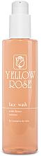 Voňavky, Parfémy, kozmetika Čistiaci gél na normálnu a suchú pokožku s kvetinovými extraktmi - Yellow Rose Face Wash With Flower Extracts