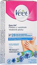 Voňavky, Parfémy, kozmetika Voskové prúžky na telo s nevädzovou arómou - Veet Easy-Gel
