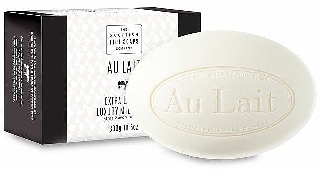 Mliečne mydlo - Scottish Fine Soaps Au Lait Extra Large Milk Soap — Obrázky N1