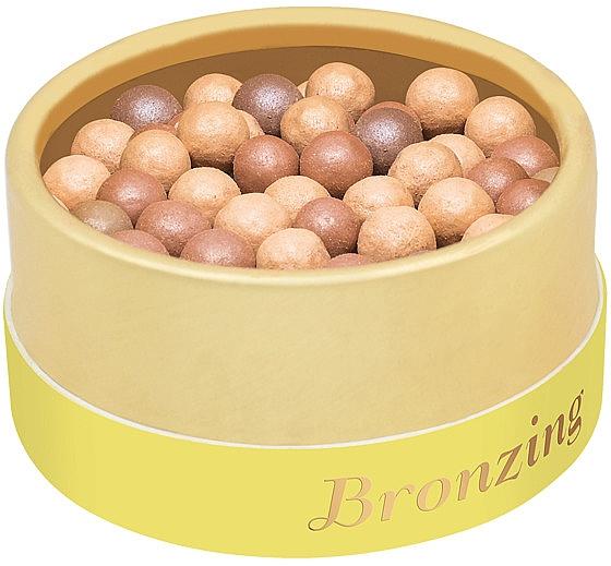 Bronzujúci prášok v guličkách - Dermacol Beauty Powder Pearls Bronzing