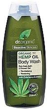"""Voňavky, Parfémy, kozmetika Sprchový gél """"Konopný olej"""" - Dr. Organic Bioactive Skincare Hemp Oil Body Wash"""