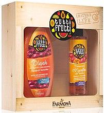 "Voňavky, Parfémy, kozmetika Sada ""Papaja a Tamarillo"" - Farmona Tutti Frutti Papaya and Taramarillo (sh/gel/425ml + b/mist/200ml)"