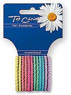Voňavky, Parfémy, kozmetika Gumičky na vlasy 12 ks, mix farieb, 21954 - Top Choice