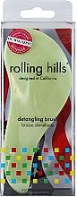 Voňavky, Parfémy, kozmetika Kefa na vlasy, svetlozelená - Rolling Hills Detangling Brush Travel Size Light Green