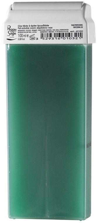 Kazeta s voskom pre teplú depiláciu - Peggy Sage Cartridge Of Fat-Soluble Warm Depilatory Wax Vert