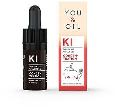 Voňavky, Parfémy, kozmetika Zmes éterických olejov - You & Oil KI-Concentration Touch Of Welness Essential Oil