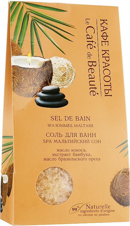 "Soľ do kúpeľa ""SPA Maltský sen"" - Le Cafe de Beaute Sel De Bain Spa — Obrázky N1"
