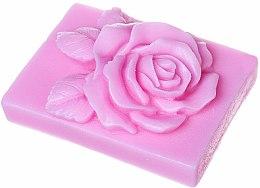 """Voňavky, Parfémy, kozmetika Ručne vyrábané prírodné obdĺžnikové mydlo """"Ruža"""" s vôňou višne - LaQ Happy Soaps Natural Soap"""