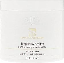 Voňavky, Parfémy, kozmetika Tropický peeling s lyofilizovanými ananásmi - Apis Professional Pina Colada Body Tropical Scrub
