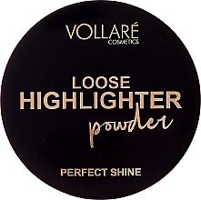 Voňavky, Parfémy, kozmetika Sypký rozjasňovač - Vollare Loose Highlighter Powder Perfect Shine (tester)