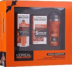 Voňavky, Parfémy, kozmetika Sada - L'Oreal Paris Men Expert (deo/50ml + cr/50ml + eye/roller/10ml)