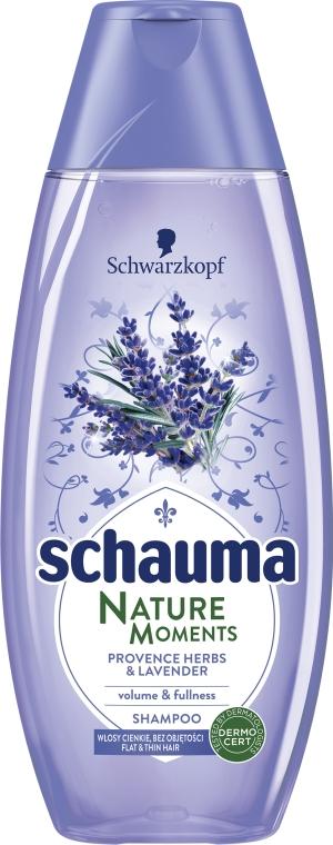"Šampón na vlasy ""Provensálske byliny a levanduľa"" - Schwarzkopf Schauma Nature Moments Provence Herbs&Lavender Shampoo — Obrázky N1"
