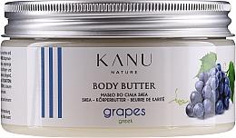"""Voňavky, Parfémy, kozmetika Maslo na telo """"Grécke hrozno"""" - Kanu Nature Greek Grape Body Butter"""