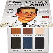 Voňavky, Parfémy, kozmetika Paleta tieňov na viečka - TheBalm Meet Matt(e) Ador Matte Eyeshadow Palette