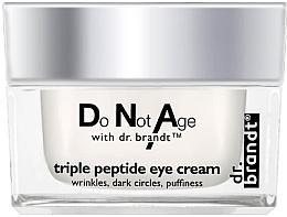 Voňavky, Parfémy, kozmetika Krém na viečka s tripeptidovým komplexom - Dr. Brandt Triple Peptide Eye Cream