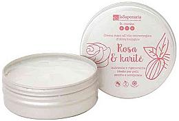 """Voňavky, Parfémy, kozmetika Krém na ruky """"Ruža a karité"""" - La Saponaria Hand Cream Rose and Shea Butter"""