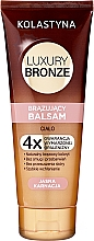 Voňavky, Parfémy, kozmetika Balzam na telo s opaľovacím účinkom pre svetlú pokožku - Kolastyna Luxury Bronze Balm