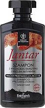 Voňavky, Parfémy, kozmetika Detoxikačný šampón s aktívnym uhlím - Farmona Jantar Detoxifying Shampoo With Active Charcoal