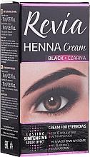 Voňavky, Parfémy, kozmetika Henna na obočie v kréme - Revia Eyebrows Henna