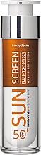 Voňavky, Parfémy, kozmetika Ochranný fluid na tvár - Frezyderm Sun Screen Vitamin D Like Skin Benefits Fluid to Powder SPF50+