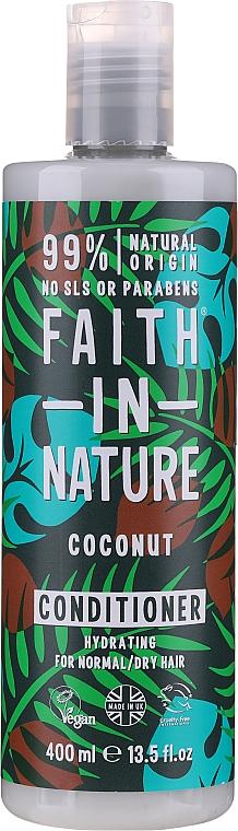"""Kondicionér pre normálne až suché vlasy """"Kokos"""" - Faith In Nature Coconut Conditioner"""