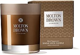 Voňavky, Parfémy, kozmetika Molton Brown Black Peppercorn Single Wick Candle - Sviečka s jedným knôtom