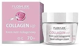 Voňavky, Parfémy, kozmetika Krém na tvár kolagénový 70+ - Floslek Collagen Up Nutrii-collagen Cream 70+