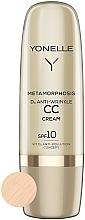 Voňavky, Parfémy, kozmetika CC krém proti vráskam SPF 10 - Yonelle Metamorphosis D3 Anti Wrinkle CC Cream SPF10