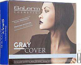 Voňavky, Parfémy, kozmetika Prostriedky na lepšie zafarbenie sivých vlasov - Salerm Cubre Canas
