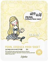 Voňavky, Parfémy, kozmetika Textilná maska na tvár s perlami - Esfolio Essence Mask Sheet