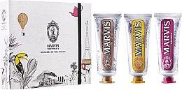 "Voňavky, Parfémy, kozmetika Sada ""Wonders of the World"" - Marvis Set (toothpaste/3x25ml)"