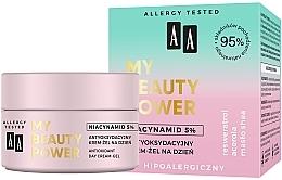 Voňavky, Parfémy, kozmetika Antioxidačný denný krémový gél na tvár - AA My Beauty Power Niacynamid 5% Antioxidant Day Cream-Gel