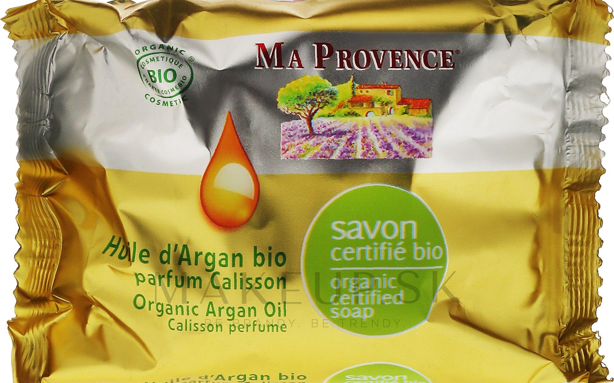 """Organické mydlo s arómou kalissona """"Arganový olej"""" - Ma Provence Nature Soap — Obrázky 75 g"""