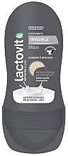 Voňavky, Parfémy, kozmetika Guľôčkový dezodorant - Lactovit Men Invisible Deodorant Roll-On
