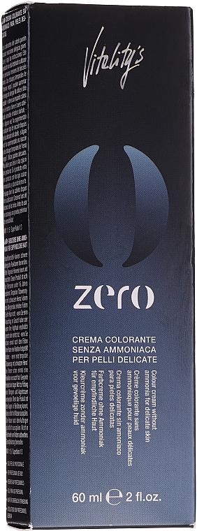 Permanentná krémová farba bez amoniaku - Vitality's Zero