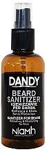 Voňavky, Parfémy, kozmetika Dezinfekčný sprej na bradu a fúzy - Niamh Hairconcept Dandy Beard Sanitizer Refreshing & Moisturizing