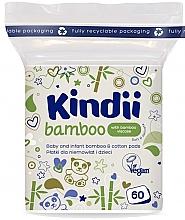 Voňavky, Parfémy, kozmetika Vatové tampóny pre babätká a deti - Kindii Bamboo Cotton Pads