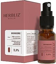 """Voňavky, Parfémy, kozmetika Olejový ústny sprej """"Jahoda"""" 2,5% - Herbliz CBD Oil Mouth Spray 2,5%"""