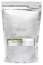 Voňavky, Parfémy, kozmetika Alginátová maska na tvár s aloe - Bielenda Professional Face Algae Mask with Aloe (rezervný blok)