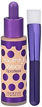 Voňavky, Parfémy, kozmetika Tonálnych základ s štetcom - Physicians Formula Youthful Wear Spotless Foundation SPF 15