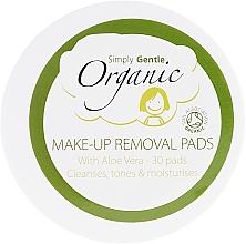 Voňavky, Parfémy, kozmetika Čistiace servítky na tvár - Simply Gentle Organic Fairtrade Cotton Facial Cleansing Pads