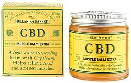 Voňavky, Parfémy, kozmetika Balzam na telo - Holland & Barrett CBD Muscle Balm Extra