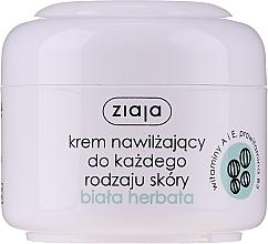 """Voňavky, Parfémy, kozmetika Krém na tvár hydratačný """"Biely čaj"""" - Ziaja Cream White Tea"""