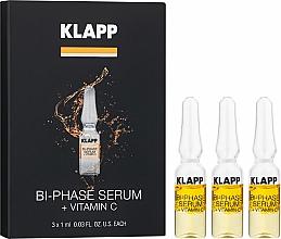 """Voňavky, Parfémy, kozmetika Dvojfázové sérum """"Vitamín C"""" - Klapp Bi-Phase Serum Vitamin C"""