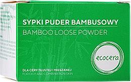 Voňavky, Parfémy, kozmetika Drobivý bambusový púder na tvár - Ecocera Bamboo Face Powder