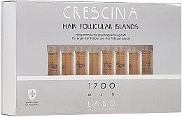 Voňavky, Parfémy, kozmetika Lotion na stimuláciu rastu vlasov u mužov 1700 - Crescina Hair Follicular Islands Re-Growth 1700