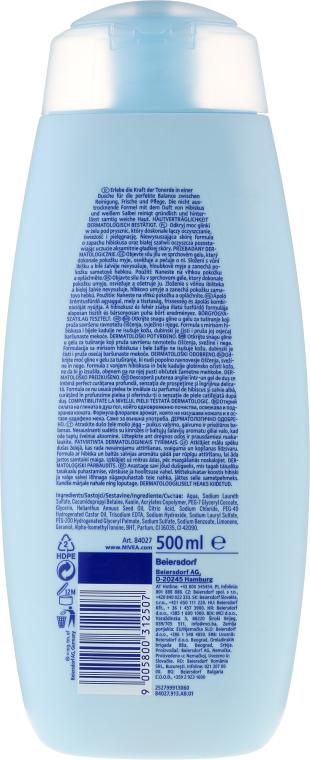 Sprchový gél s ílom - Nivea Clay Fresh Hibiscus & White Sage — Obrázky N2