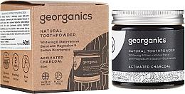 Voňavky, Parfémy, kozmetika Prírodný zubný prášok - Georganics Activated Charcoal Natural Toothpowder
