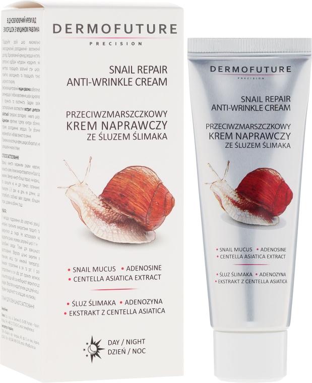 Slimačí krém proti vráskam - Dermofuture Snail Repair Anti-Wrinkle Face Cream