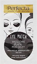 Voňavky, Parfémy, kozmetika Náplaste pod očí s uhlím - Dax Cosmetics Perfecta Eye Patch